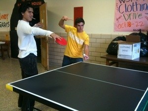 Ping Pong club places primary goal on fun