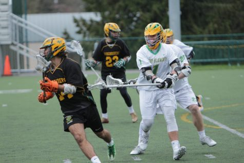 Despite Veteran Roster, Boys Lax Off to Slow Start