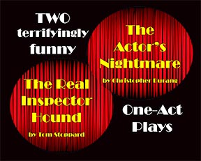The fall plays run from October 31st through November 2nd.