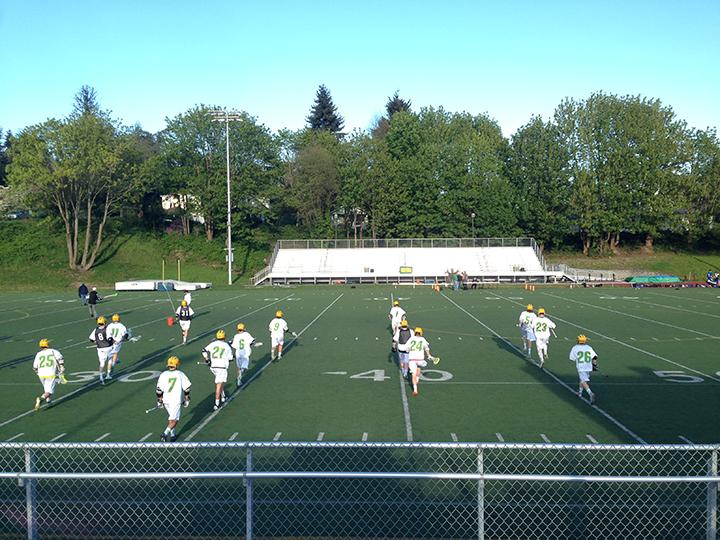 Boys Varsity Lacrosse falls to Prep