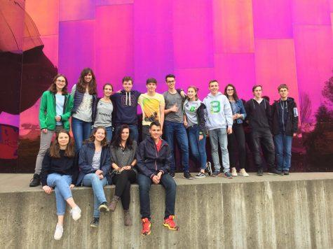 2017 German Exchange Students Arrive