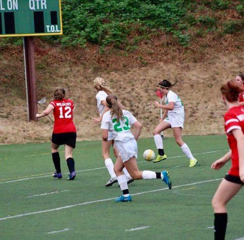 JV Girls Soccer Kicks off Season Strong Offensively
