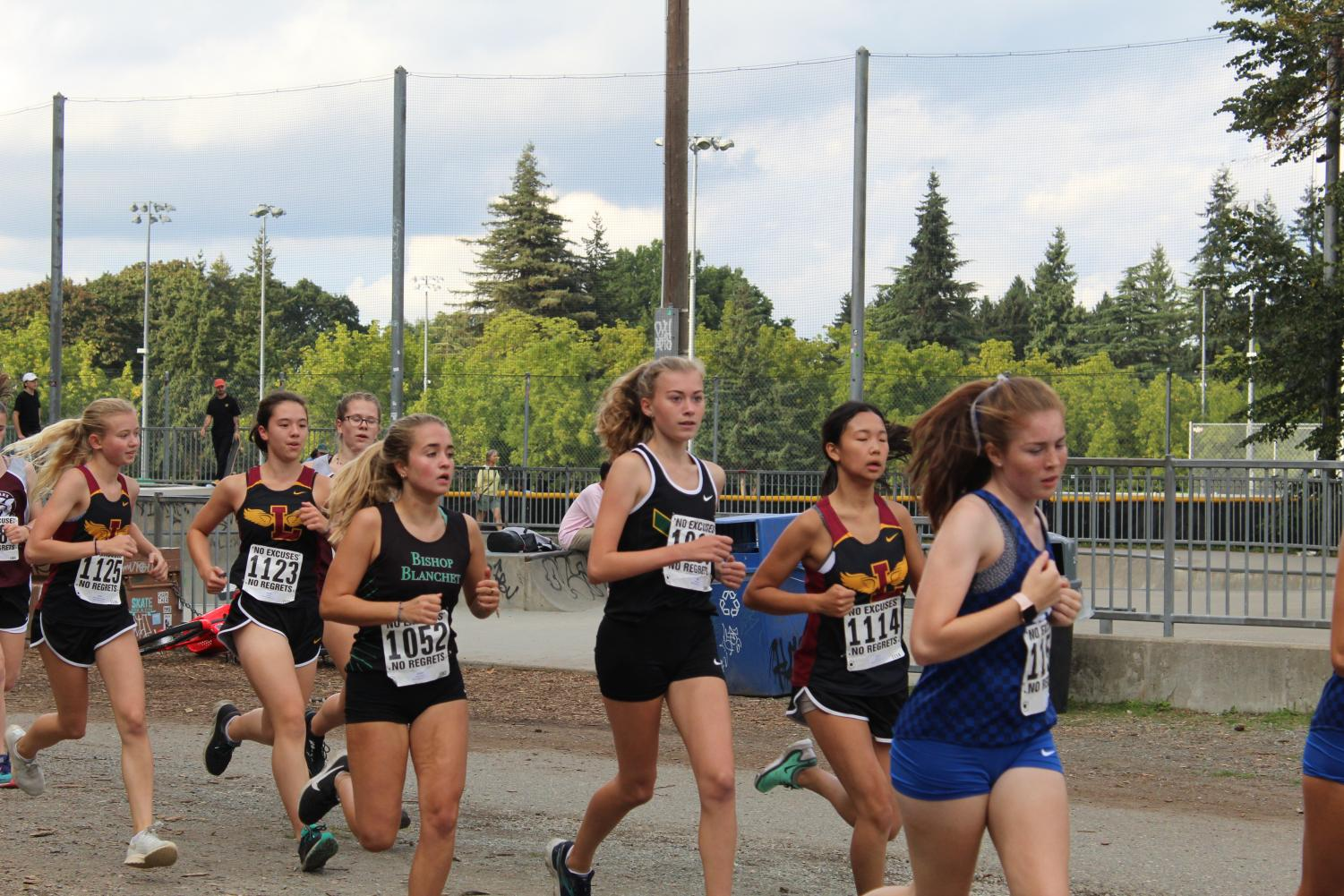 Girls Cross Country's Push to the Finish Line