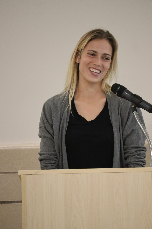Feminism Club Host Soccer Legend Stephanie Spiekerman