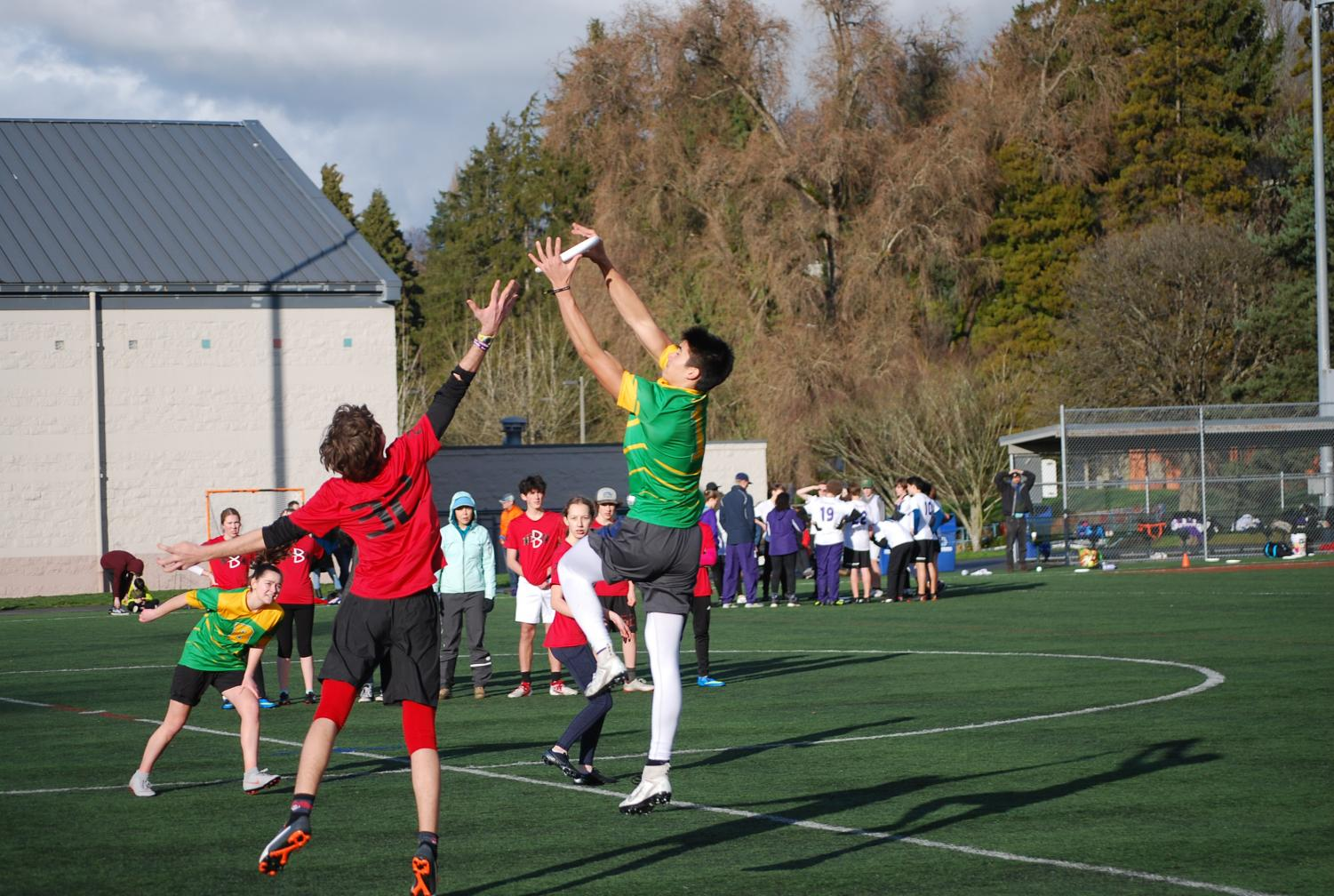 Ultimate Frisbee hits playoffs