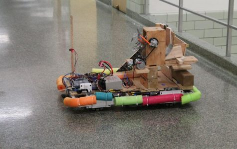 One of the Bravebots past creations.