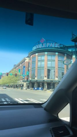 Enjoying T-Mobile Park from the outside