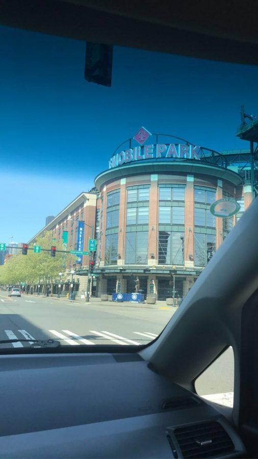 Enjoying T-Mobile Park from the outside