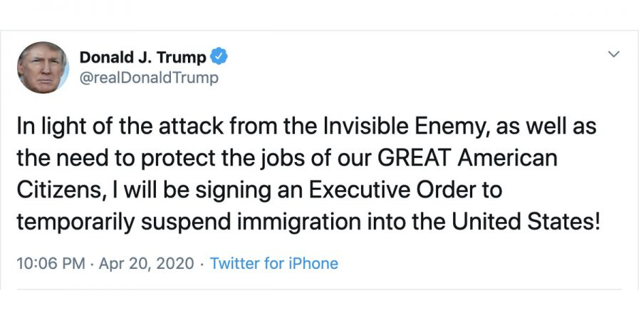 Trump+Signs+Executive+Order+to+Halt+Immigration